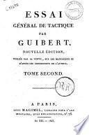 Essai general de tactique par Guibert