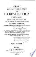 Essai historique et critique sur la révolution française