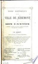 Essai historique sur la ville de Ribemont et son canton