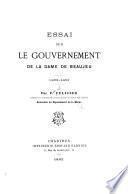 Essai sur le gouvernement de la dame de Beaujeu, 1483-1491