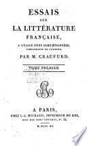 Essais sur la Littérature Française