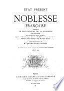 État présent de la noblesse Française