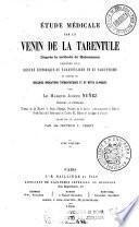 Etude médicale sur le venin de la tarentule d'après la méthode de Hahnemann