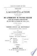 Étude sur l'acceptilation en droit romain