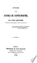 Étude sur Scévole de Sainte-Marthe