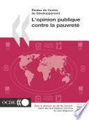 Études du Centre de développement L'opinion publique contre la pauvreté