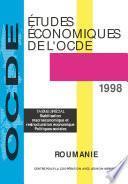 Études économiques de l'OCDE : Roumanie 1998