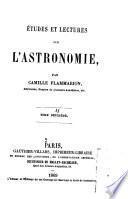 Études et lectures sur l'astronomie