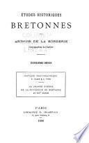 Études historiques bretonnes