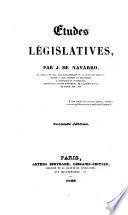 Etudes législatives
