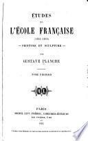 Études sur l'École française (1831-1852)