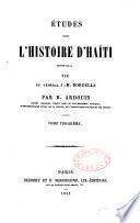 Études sur l'histoire d'Haïti