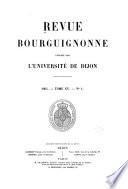 Études sur la réforme et les guerres de religion en Bourgogne...