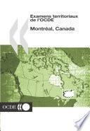Examens territoriaux de l'OCDE : Montréal, Canada 2004