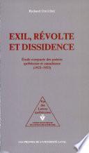 Exil, révolte et dissidence
