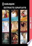 Extraits gratuits Harlequin avril 2013