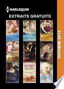 Extraits gratuits Harlequin Octobre 2013