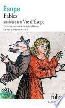Fables précédé de Vie d'Ésope