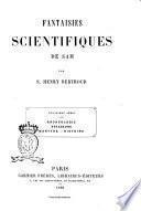 Fantaisies scientifiques de Sam par S. Henry Berthoud