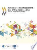 Favoriser le développement des entreprises sociales Recueil de bonnes pratiques