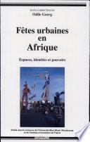 Fêtes urbaines en Afrique