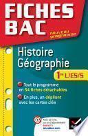 Fiches Bac Histoire-Géographie 1re L/ES/S
