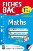 Fiches bac Maths Tle ES, L