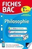 Fiches bac Philosophie Tle L, ES, S