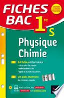Fiches bac Physique-Chimie 1re S