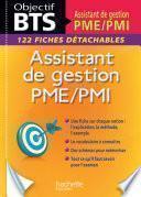 Fiches BTS Assistante de gestion PME/PMI