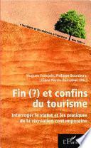 Fin(?) et confins du tourisme