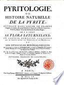 Flora Saturnisans, Ou Preuves De L'Alliance Qui Existe Entre Le Regne Végétal, Et Le Regne Minéral