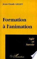 Formation A l'animation