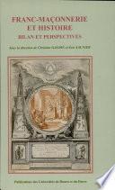 Franc-maçonnerie et histoire