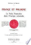 France et Pologne