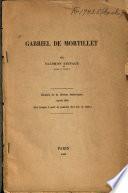 Gabriel de Mortillet