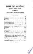 Galerie morale et politique. (Œuvres complètes de m. le comte de Ségur).