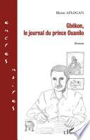 Gbêkon, le journal du prince Ouanilo