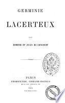 Germinie Lacerteux par Edmond et Jules de Goncourt