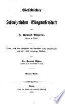 Gesch. der schweizer. Eidsgenossenschaft