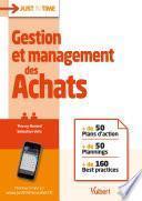 Gestion et management des Achats