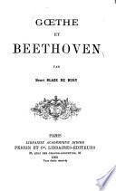Goethe et Beethoven