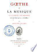 Goethe et la musique