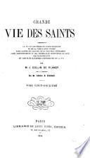 Grande vie des saints