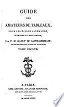 Guide des Amateurs de Tableaux