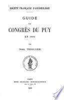 Guide du congrès du Puy en 1904