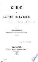 Guide du lecteur de la Bible