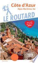 Guide du Routard Côte d'Azur 2019
