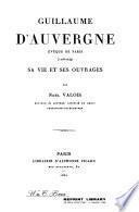 Guillaume d'Auvergne