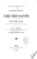 Hagiologie nivernaise, ou vies des saints du diocèse de Nevers